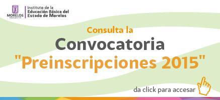 Convocatoria Inscripciones 2015