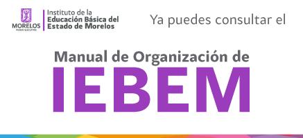 Manual de Organización del IEBEM